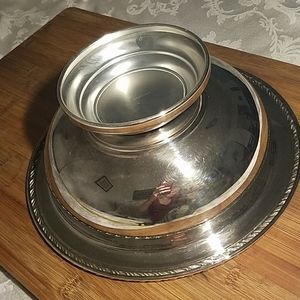 Accents - Vintage Wm A Roger's Silver Plated Bowl
